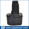 2000mah OEM Dewalt power tool battery Dc9071 De9037 De9071 De9074 De9075 Dw9071 Dw9072 Dc Dw Series Power Tool