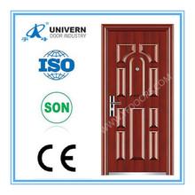 Security interior / exterior Steel Door with 2 locks (YF-S33)