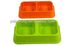 Green/Orange Fiber Pet Products for Dog Cat Pet Bowls for Small Dog Cat Products ON SALE