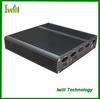 Iwill X4 pure aluminum mini itx ultra thin computer case