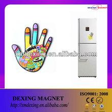 Custom 3D pvc fridge magnet/soft PVC magnet/custom decoration fridge magnet