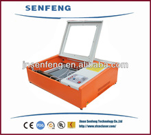SF400 laser micro cutting machine rubber stamp/acrylic cutting machine