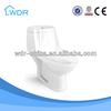 Ceramic one-piece sanitary porcelain toilet