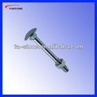stainless steel metric i/asme b18.5 carriage bolt
