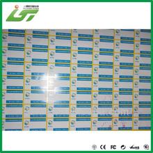 4C printing window static cling sticker China printer