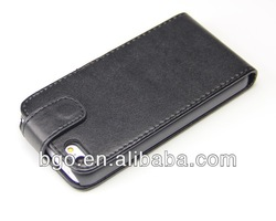 PU leather flip case for iphone 5c