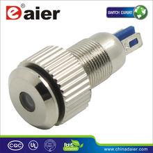 8mm metal waterproof led indicator light GQ8F-D