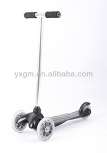 2013 hot sale good cheap aluminum tube three wheels kids scooter kick scooter scooters 3 wheel