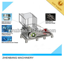 Manufacturing Automatic Industrial Plastic Crusher Machine