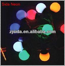 2013 new RGB led ball light for xmas decor