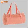 Hot sale ladies travel bags duffle bag blank orange