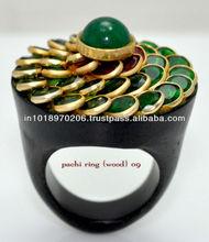 Multi Color Pacchi Stone Fashion Ring Hot Unique Jewelry