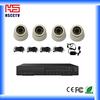 2013 HOT!!!Complete Easy Installation H.264 4ch CCTV DVR Kit