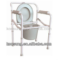 CM02 Folding disabled commode chair