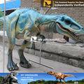 Marionetas de dinosaurios que caminan de Parque Jurásico de las marionetas dinosaurio de la BBC