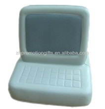 pu stress anti foam computer shape stress ball for promotional