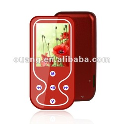 Ultrathin MP4 player,mini portable mp4 player,FM and voice recorder