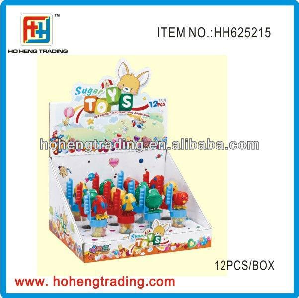 New plastic cartoon candy toys