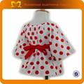 2014 China venta al por mayor ropa para bebés vestidos de extremo a extremo de primera comunión ropa del bebé Gril vestido con pantalones conjuntos