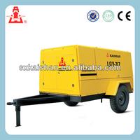 Kaishan portable diesel air compressor high quality airman diesel portable air compressor