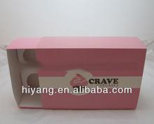 Custom high quality birthday cupcake box packaging