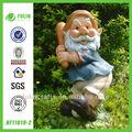 sportive ofício jardim gnome resina esporte figura de ação