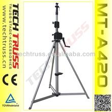 MT-A420 Aluminum Light Max height 4.2m Lighting Tower Truss