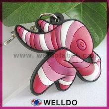 guangzhou vairous colour silicone keyring