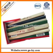 Custom wooden carpenter pencil