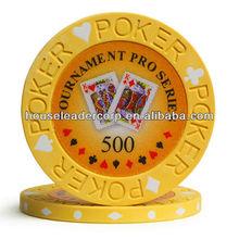 10 gram Chips Poker / Pro Series Tournament Poker Chips