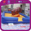 Adult crazy sport rodeo bull riding inflatable mechanical bull for sale