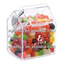 custom acrílico distribuidor de doces caixa