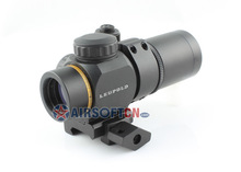 Leupold 1x14 Tactical Prismatic Style Rifle Scope Sight Riflescope w/ Illuminated Red Circle Plex Reticle, OP-114