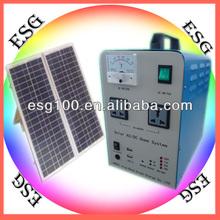 300W, ~ 5KW portable Solar Power System Battery+Inverter+Controller one machine Solar Power