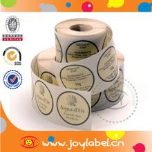 Waterproof Roll Logo Stickers,Custom Label Maker