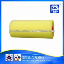 professional yellow sponge paint roller cover