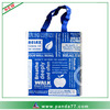 Custom printed reusable shopping bag cotton