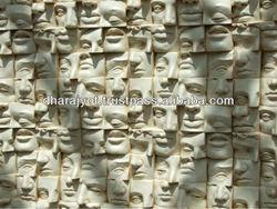 humans head wall hanging