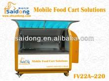 2013 Best Insulated Food vending Cart,Street Food Cart/Steel Food Cart,Snack Food Cart/Fast Food Cart