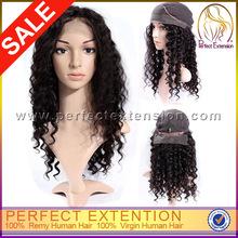 Full Thin Skin Cap Virgin Human Lace Wigs Hair Vendors