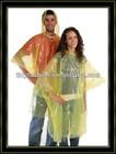 PE Emergency Disposable Rain Poncho/Rainwear For Adult