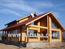 Wooden House Glulam / Prefabricated wooden Villa