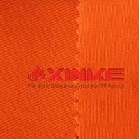 safety orange fabric 100% cotton