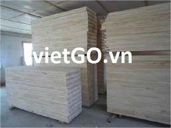 Finger Joint Laminated Board Acacia Wood