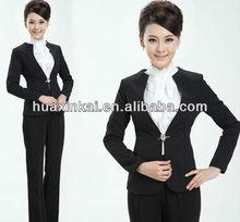 2014 fashionable wholesale bank uniform style for women