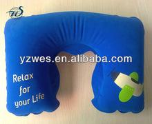 Soft inflatable travel pillow/air pillow