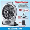 mini rechargeable table solar fan