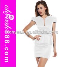 Sexy design 2014 new model formal office dresses for women