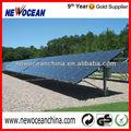 ajustable de montaje solar de tierra de la pila de energía solar fotovoltaica de la instalación