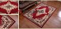 100% de poliéster nuevo diseño shaggy alfombras tejidas/alfombras
